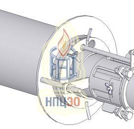 Горелки инжекционные газовые радиационные с настильным пламенем