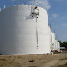 Резервуары стальные вертикальные цилиндрические